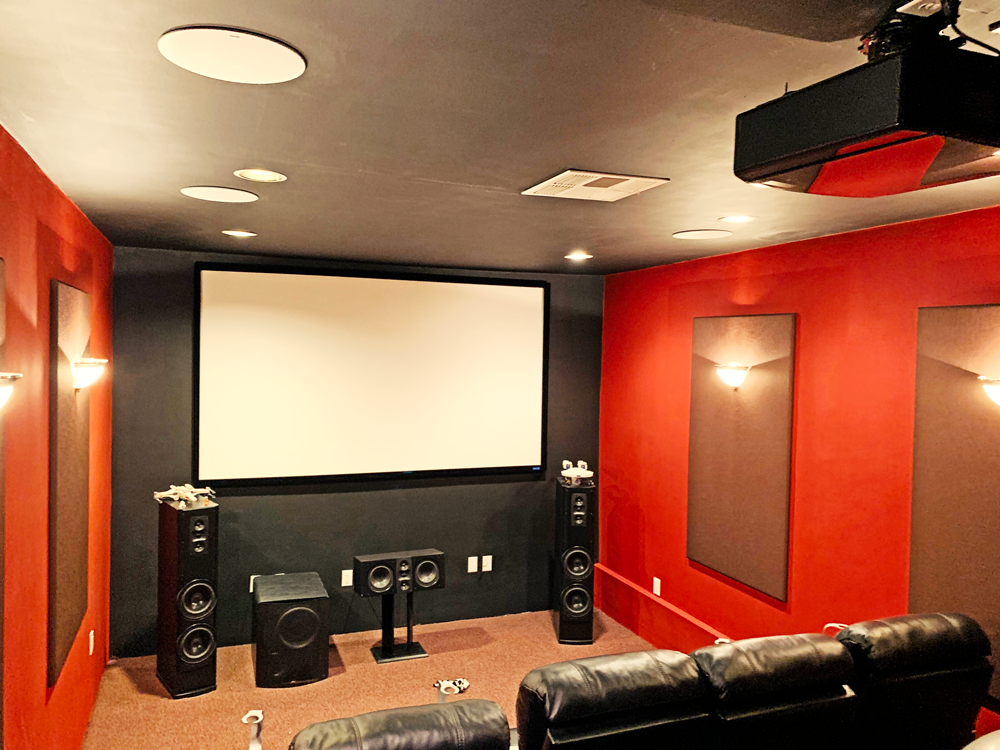 High End Luxury Home Theater Experience