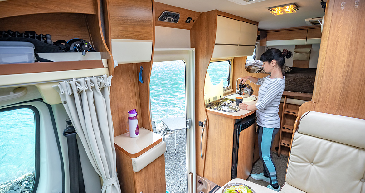Just Smart Motor Home build for safety and comfort